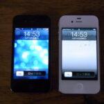 iPhone4Sに機種変更