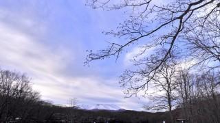 雪の錦大沼公園