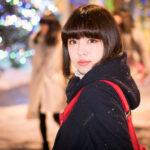 12/24 久保田れなさん撮影会in大通公園(個人撮影)