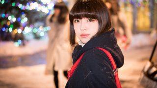 12/24 久保田れな撮影会in大通公園(個人撮影)