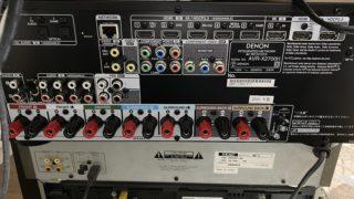 eARC対応AVアンプAVR-X2700Hの導入